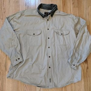 Woolrich khaki light outdoors jacket